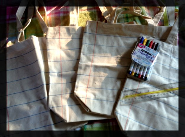 Canvas Teacher Bags